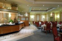 Het binnenland van het restaurant royalty-vrije stock afbeelding