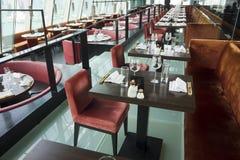 Het binnenland van het restaurant Royalty-vrije Stock Foto