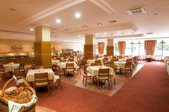 Het Binnenland van het restaurant stock foto's