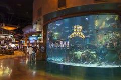 Het binnenland van het Silvertonhotel in Las Vegas, NV op 20 Augustus, 2013 Stock Fotografie