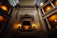 Het binnenland van het Smithsonian Museum van Biologie, in Wa Royalty-vrije Stock Foto