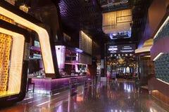 Het Binnenland van het stadscentrum in Las Vegas, NV op 06 Augustus, 2013 Stock Foto's