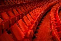 Het binnenland van het theater royalty-vrije stock afbeelding