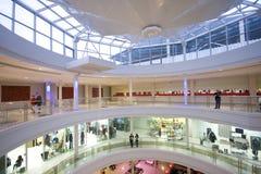 Het binnenland van het winkelcentrum stock fotografie
