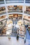 Het binnenland van het winkelcentrum Royalty-vrije Stock Afbeeldingen