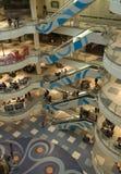 Het binnenland van het winkelcomplex Royalty-vrije Stock Foto's