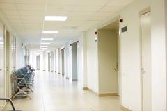 Het binnenland van het ziekenhuis Stock Foto