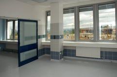 Het binnenland van het ziekenhuis stock fotografie
