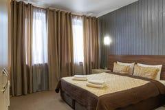 Het binnenland van het hotel is in een klassieke stijl stock foto's