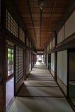 Het binnenland van Japans huis Royalty-vrije Stock Afbeeldingen