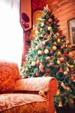 Het binnenland van Kerstmis royalty-vrije stock fotografie