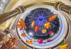 Het binnenland van Las Vegas Palazzo Stock Afbeeldingen