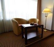 De ruimtelamp van het hotel stock foto