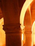 Het binnenland van Sarjahmahdi bij het complexe paleis van thanjavurmaratha Royalty-vrije Stock Afbeeldingen