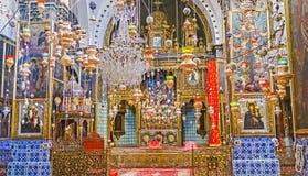 Het binnenland van St James Cathedral Stock Afbeeldingen