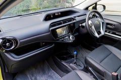 Het binnenland van Toyota Prius C 2015 Royalty-vrije Stock Foto's