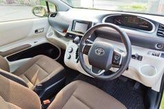 Het Binnenland van Toyota SIENTA 2015 Royalty-vrije Stock Afbeelding