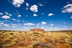 Het Binnenland van Uluru Stock Foto's