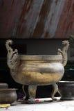 Het binnenlandse detail van de tempel royalty-vrije stock foto