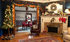 Het binnenlandse Kerstmis Leven Royalty-vrije Stock Afbeelding