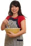 Het binnenlandse Koken Stock Foto