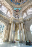 Het binnenlandse Nationale Museum van de Kunst van Catalonië Royalty-vrije Stock Foto