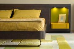 Het binnenlandse ontwerp van de slaapkamer. Royalty-vrije Stock Afbeeldingen