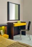 Het binnenlandse ontwerp van de slaapkamer. Royalty-vrije Stock Fotografie