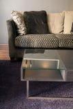 Het binnenlandse ontwerp van de woonkamer. Elegant en luxe. Royalty-vrije Stock Foto