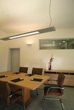 Het binnenlandse ontwerp van het elegante en luxebureau. Royalty-vrije Stock Foto