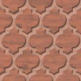 Het binnenlandse patroon van het muurpaneel - abstract decoratiemateriaal - Arabisch decor - geometrische patronen stock afbeelding