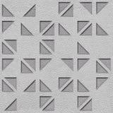 Het binnenlandse patroon van het muurpaneel - Abstracte driehoekige stijl vector illustratie