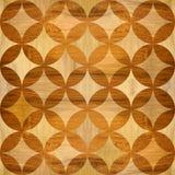 Het binnenlandse patroon van het muurpaneel - houten textuur stock illustratie