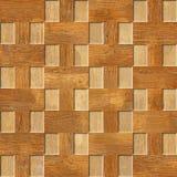 Het binnenlandse patroon van het muurpaneel - Kersen houten textuur stock afbeeldingen