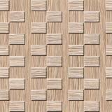 Het binnenlandse patroon van het muurpaneel - Vernietigde Eiken Groef houten textuur vector illustratie