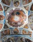 Het binnenlandse schilderen van St George ` s kerk in yuryev-Polsky royalty-vrije stock foto's