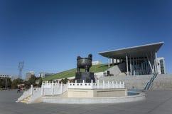 Het binnenmuseum van Mongolië stock foto's