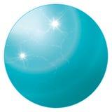 Het birthstone-Turkoois van december vector illustratie