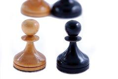 het blackenning en wit Royalty-vrije Stock Foto's