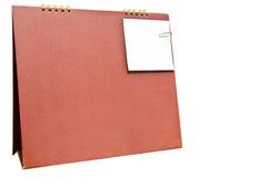Het blad van document voor nota's en paperclip stock fotografie