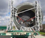 Het blad van windenergieinstallatie Royalty-vrije Stock Afbeeldingen