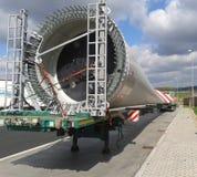 Het blad van windenergieinstallatie Stock Afbeelding