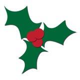 Het bladachtergrond van Kerstmis Stock Fotografie