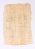 Het bladdocument van de papyrus Stock Afbeelding