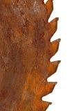 Het bladtanden van de zaag Royalty-vrije Stock Foto's