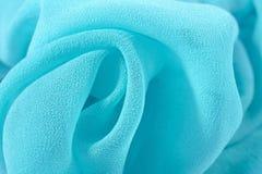 Het blauw omfloerst de stof van DE chine Royalty-vrije Stock Fotografie