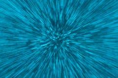 Het blauw schittert de abstracte achtergrond van explosielichten Royalty-vrije Stock Foto's