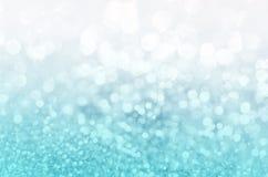 Het blauw schittert Kerstmis 2016 Stock Foto