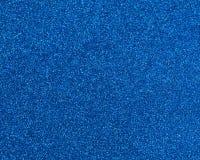 Het blauw schittert textuur abstracte achtergrond Royalty-vrije Stock Afbeelding