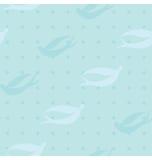 Het blauw slikt het Patroon van de Vogel royalty-vrije stock foto's